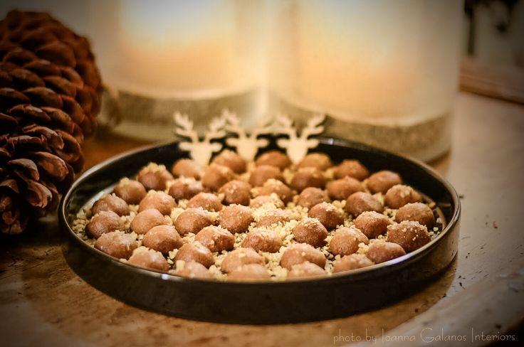 Melomakarona, traditional Greek Xmas sweets. Photo by Ioanna Galanos Interiors