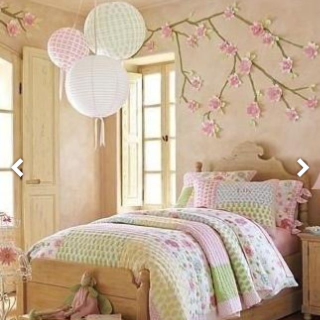 Cherry Blossom Bedroom Design Interiordecoration Floral Decoracion De Cuartos Peque 241 Os