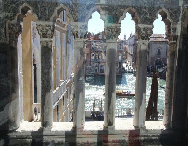 Venice...through a window.