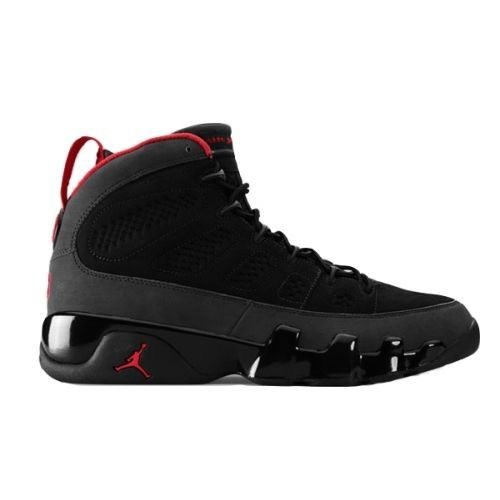 Air Jordan 9 Retro Charcoal Black Dark Charcoal True Red 302370-005 $60.00