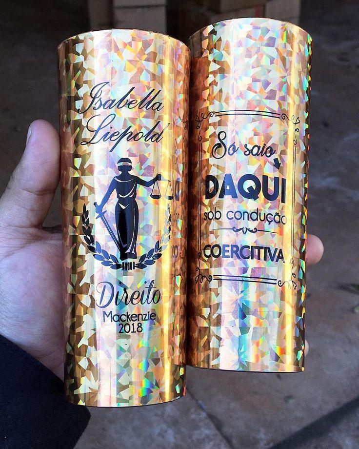 Long Drink Mosaico, Dourado ❤️