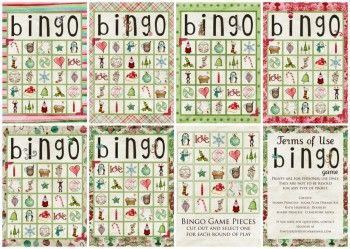 Free Christmas BINGO Game