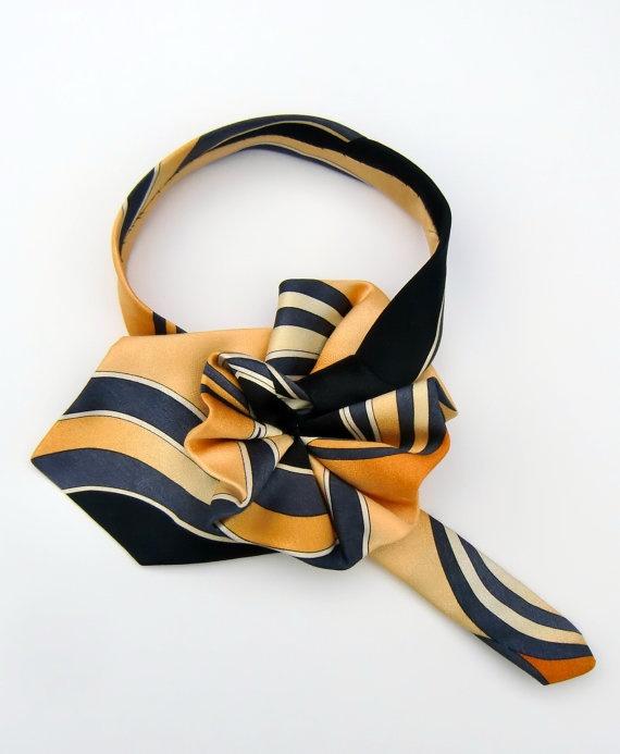 Elegant Ladies Necktie Scarf $30.00