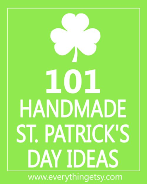 Looking for a few awesome DIY ideas for St. Patrick's Day? A touch of green for good luck is never a bad thing. Check out this collection of 101 Handmade St. Patrick's Day Ideas! You'll find everything from party printables to simple decorations for your home. Create a little something fun without spending a ton.…   [read more]