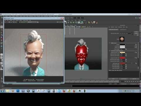 How to render skin with Sub Surface Scattering in Mental Ray for MayaComputer Graphics & Digital Art Community for Artist: Job, Tutorial, Art, Concept Art, Portfolio