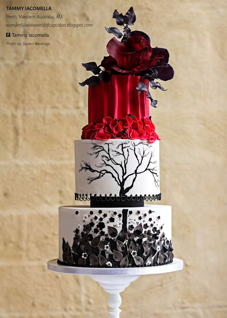 Little Red Riding Hood Fairytale Cake 6  | Cake Central Magazine | Volume 4 Issue 10 - October 2013