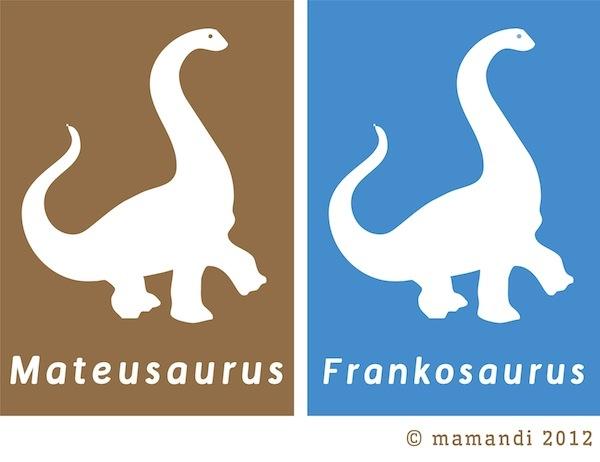 Dinosaurusy w innych kolorach do wyboru