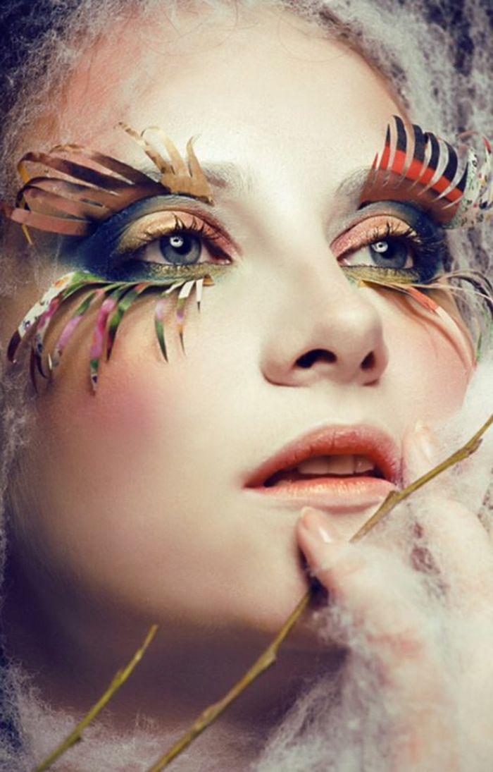 le maquillage artistique pour une vision artistique