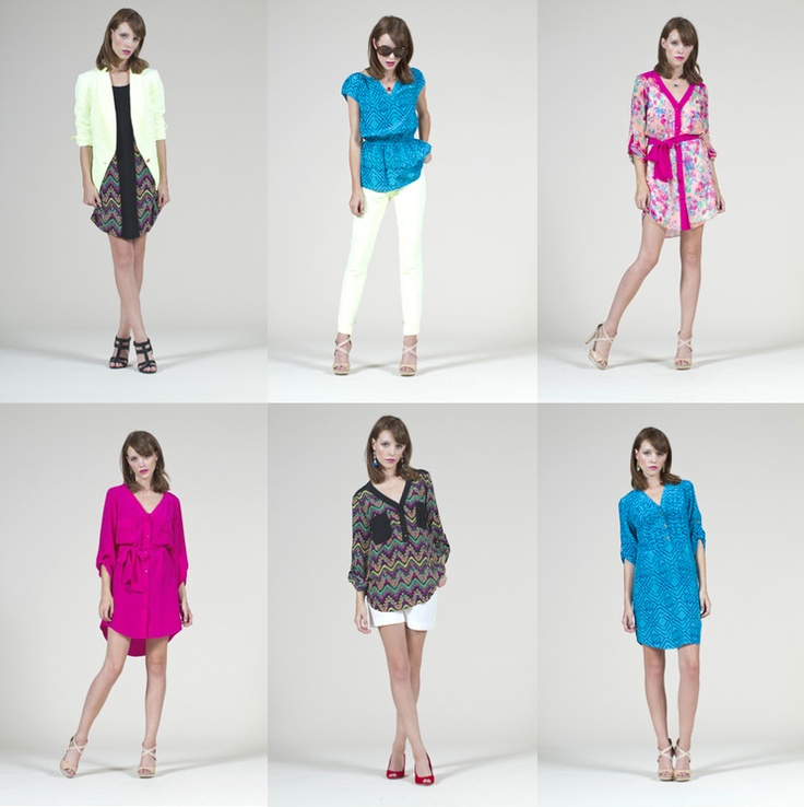 81 Poppies Spring 2013 Collection Bright Colorful Fun Artistic Modern Patterns Style Me