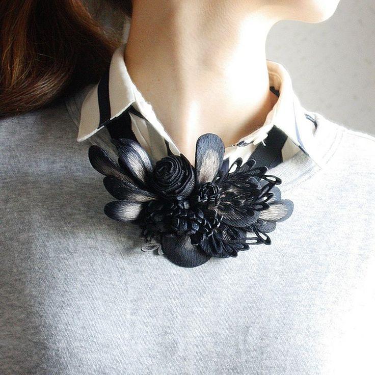 #emitakazawa #accessory #necklace #silk