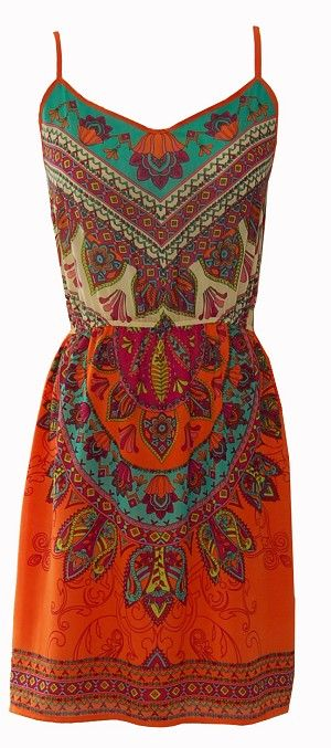 Oh this boho dress is a must