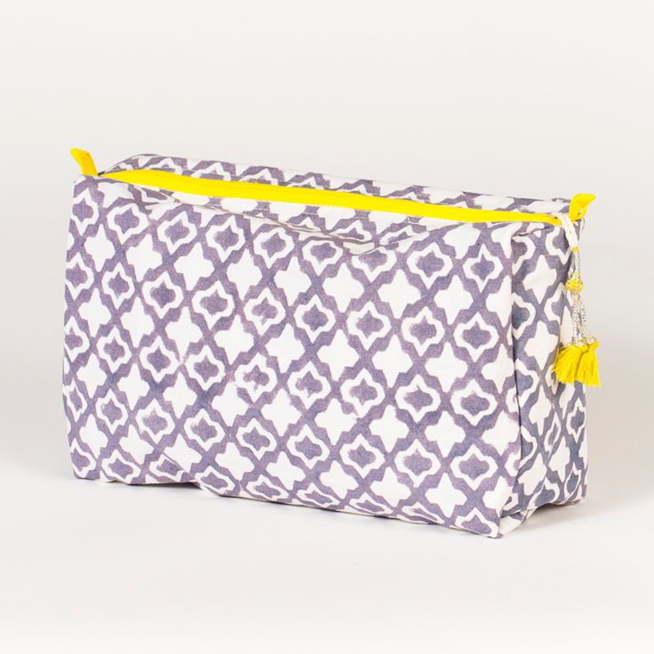 eyelet toiletry bag