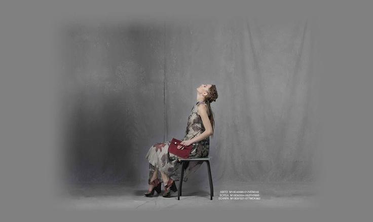 Malloni Black Collection S13 #dress #bag #shoes #abito #scarpe