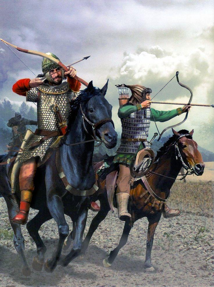 Attila's Hun warriors