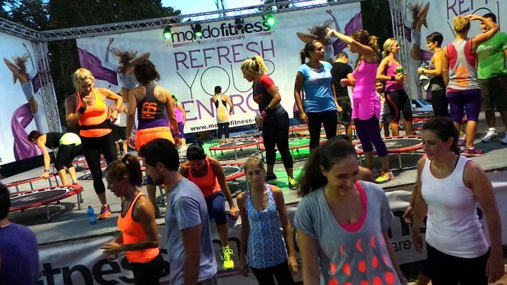 Jill Cooper Video Foto di Gruppo - Mondo Fitness Roma