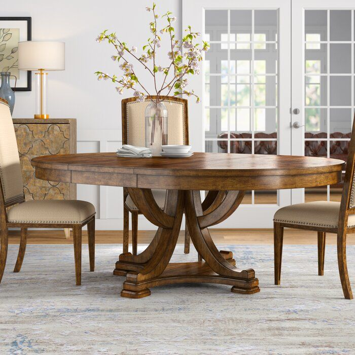 Canora Grey Mcmurry Extendable Dining Table Reviews Wayfair Dining Table Round Dining Room 60 Round Dining Table