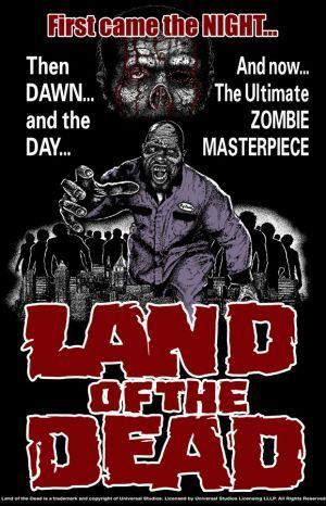 Land of the dead Official T-shirt art