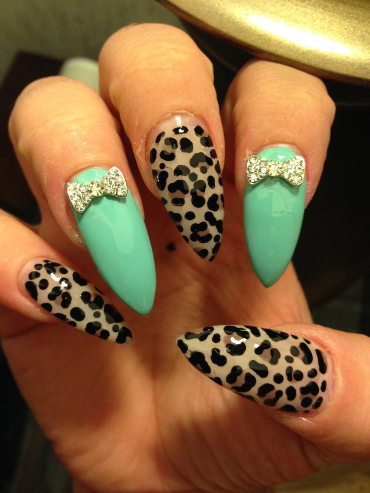 How to Make a Glamorous Tiffany & Co. Cheetah Mani