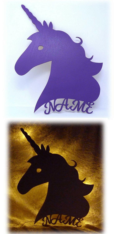 Geschenk Zur Geburt Taufe Oder Babyparty Unicorn Led Wandlampe Einhorn Mit Dem Eigenen Namen Schlummerlich Geschenke Mit Namen Einhorn Geschenk Geschenke