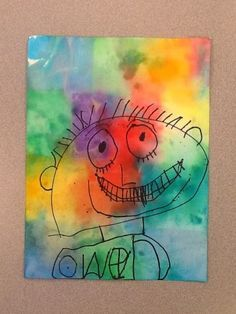 Mrs. Moss' ART Blog - Hudsonville Public Schools: Paul Klee Inspired Self-Portraits - PreK