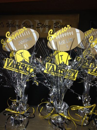 Football Banquet Centerpieces Football