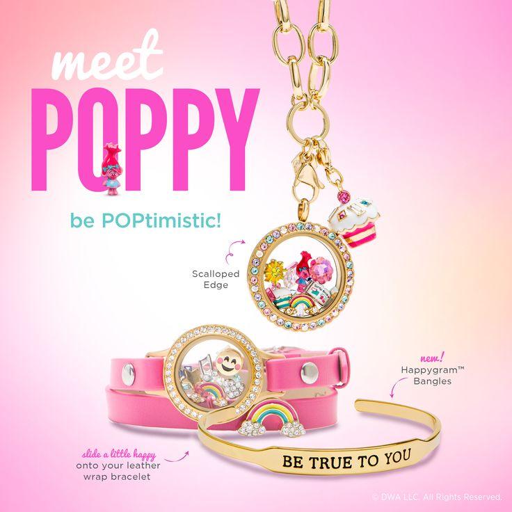 Meet Poppy! Dreamworks Trolls necklaces, bracelets, lockets, and charms.  https://www.facebook.com/groups/HeathersO2VIPs/