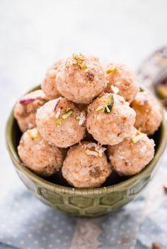 Coconut Khoya Dry Fruit Ladoo