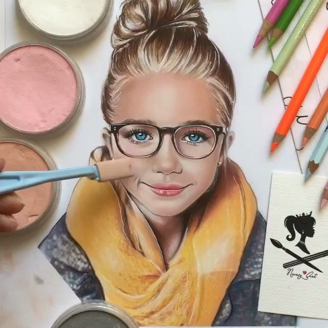 147 best art panpastels pastels images on pinterest chalk using the pan pastel palette navasy photo taken by ccuart Images