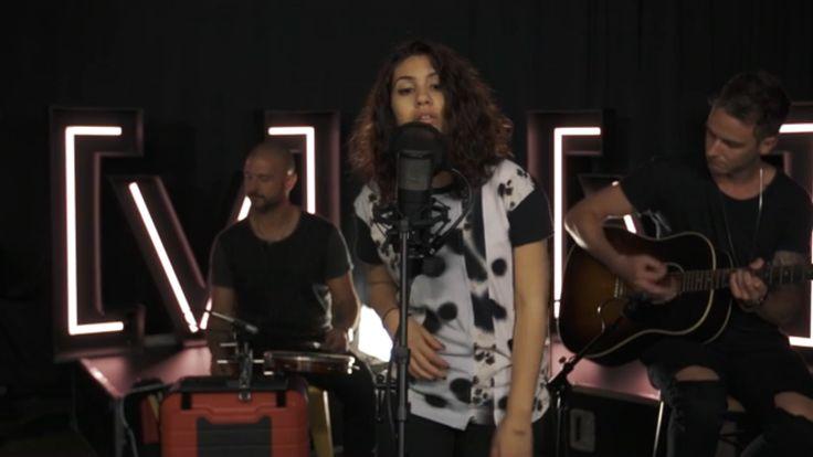 Fellow Toronto native, Alessia Cara, covers the OVO Sound 6 God's single, 'Hotline Bling'.