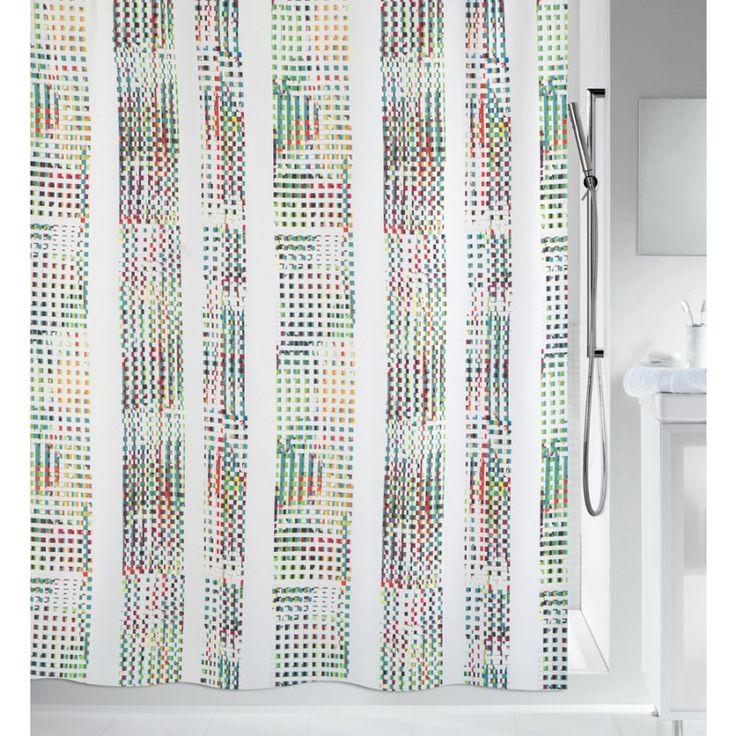 Textil-Duschvorhang Spirella Analog