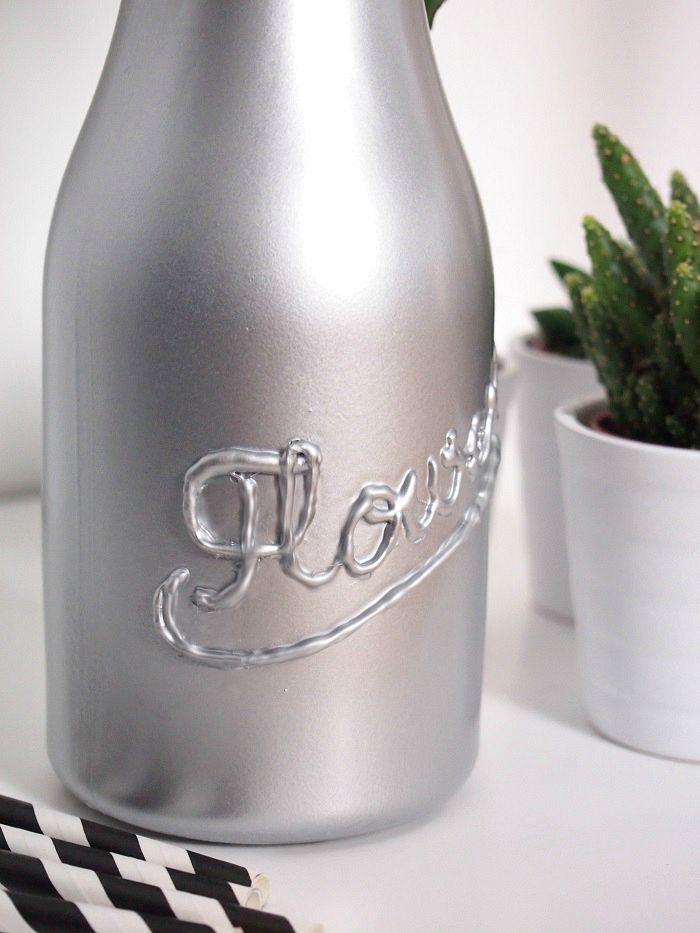 Einmachglas Vase