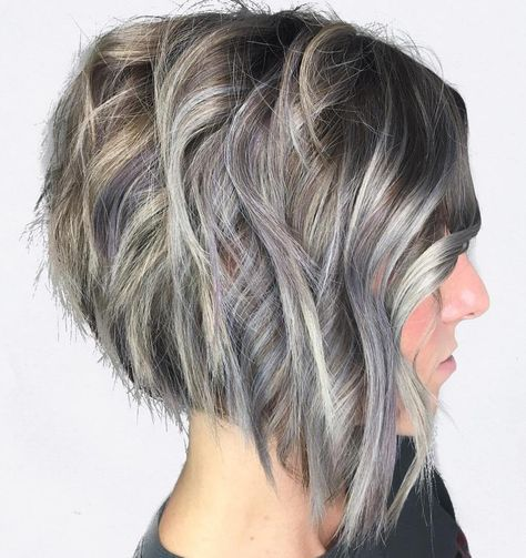 google short haircuts 25 trending gray balayage ideas on gray hair 3556 | 201abf6cb4c869aa97e9af469f7d3556