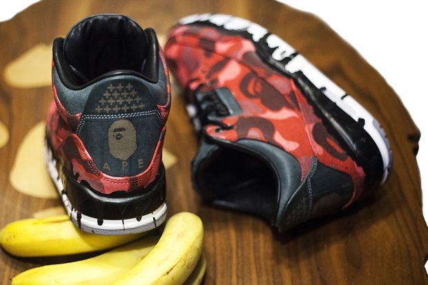 """Image of JBF Customs: Air Jordan 3 """"BAPE x Ice Cream"""""""