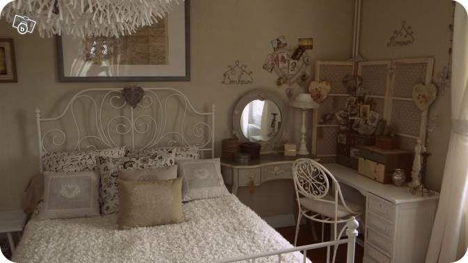 Cadre de lit FER FORGE blanc Ameublement Essonne - leboncoin.fr