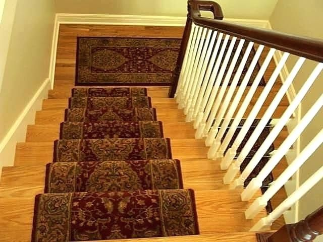 Oriental Stair Runner With Matching Landing Not Connected Mission