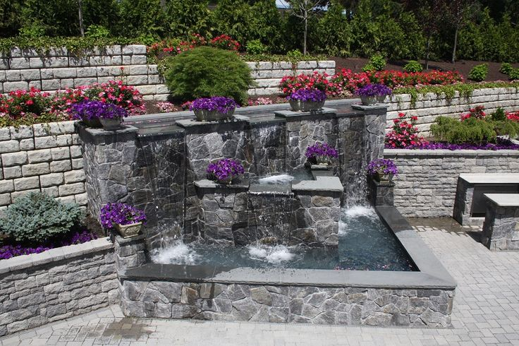 17 best images about backyard ideas on pinterest stone for Pond feature ideas