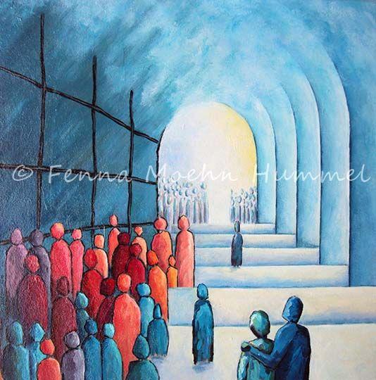 Christelijke kunst Bijbel Schilderij KinderenvanhetLicht.jpg (534×540)