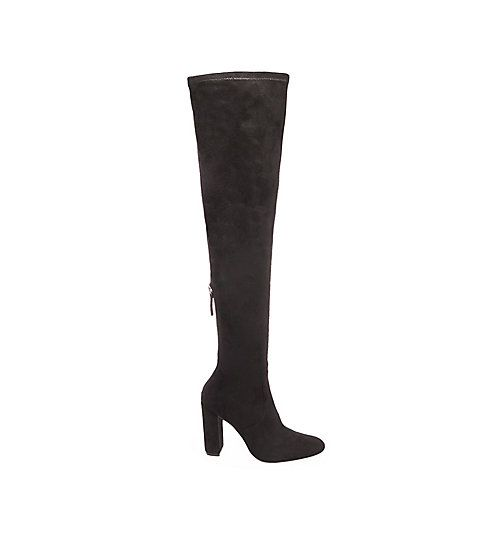 Thigh High Chunky Heel Boots | Steve Madden EMOTIONS