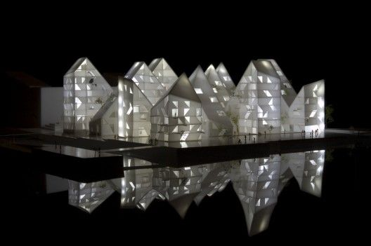 Iceberg by CEBRA + JDS + SeARCH + Louis Paillard. Incredible real state development in Denmark.