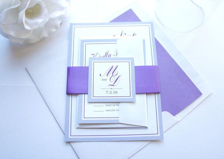 De 25+ bedste idéer inden for Grape wedding invitation sets på - sample general color chart
