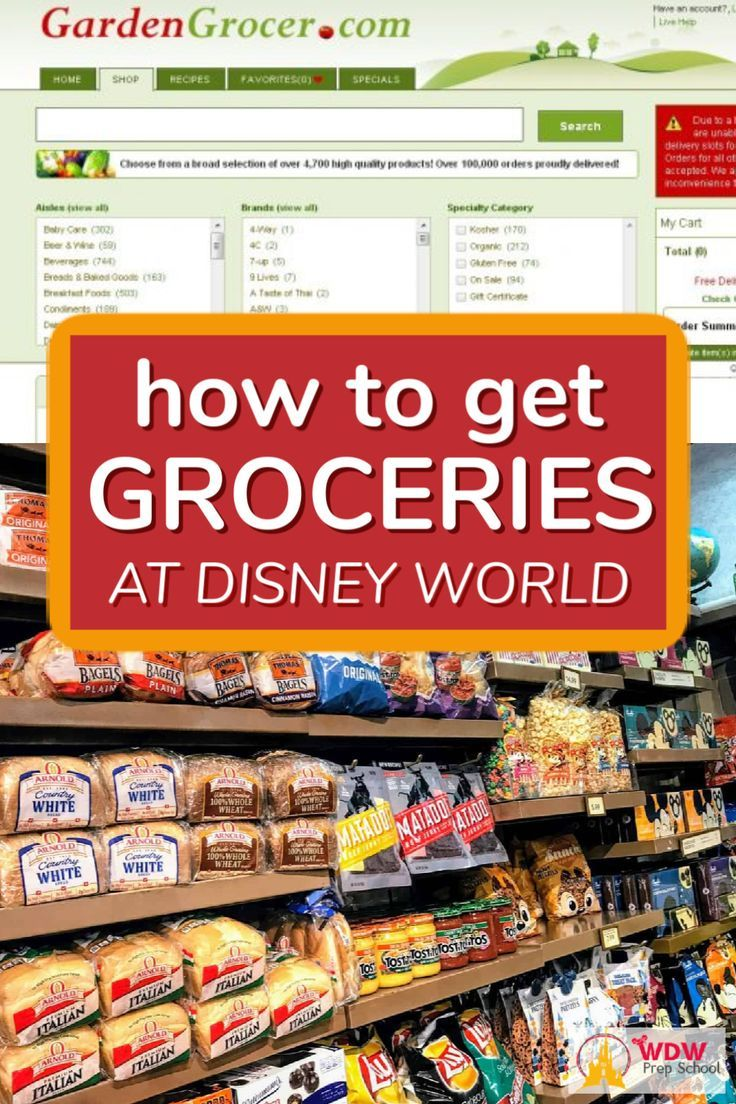 How To Get Groceries At Disney World In 2020 Disney World Tips And Tricks Disney World Trip Disney World
