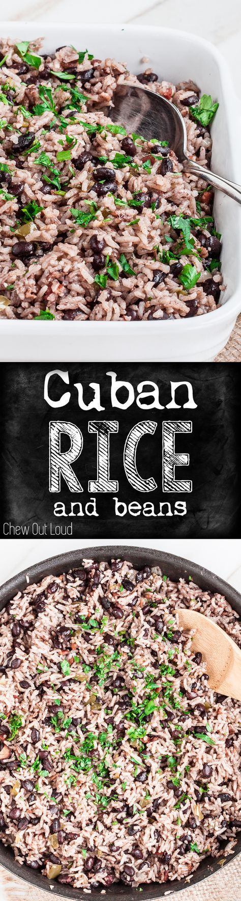 Not just any rice. This is full of amazing flavor. Fluffy, tender, crazy delicious. Can be completely made the night before. #cuban #rice #side
