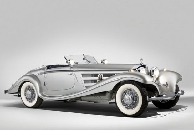 1937 Mercedes-Benz 540K Special Roadster...   Lineas con Armonía