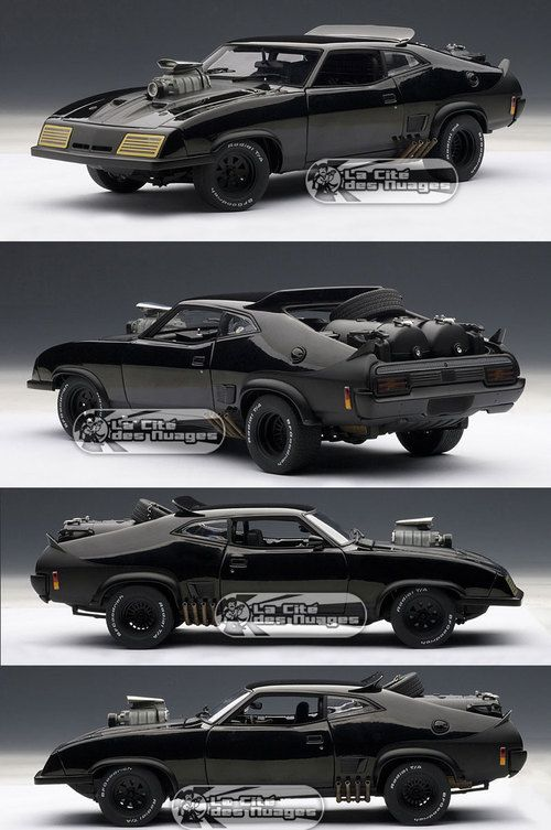 mad max 2 : the road warrior - interceptor ford falcon xb