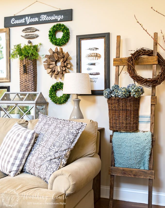 Country Living Spring Home Tour - Worthing Court