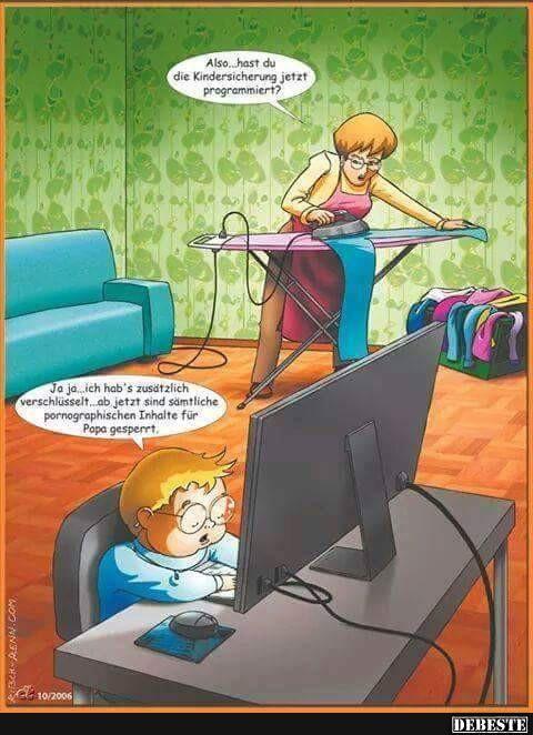 Additionally.. hast du die Kindersicherung jetzt programmiert? | Lustige Bilder, Sprüche, Witze, echt lusti…