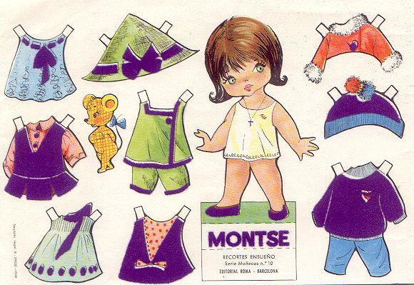 BIRGIT * 1500 free paper dolls from artist Arielle Gabriel The International Paper Doll Society for Pinterest paper doll pals *