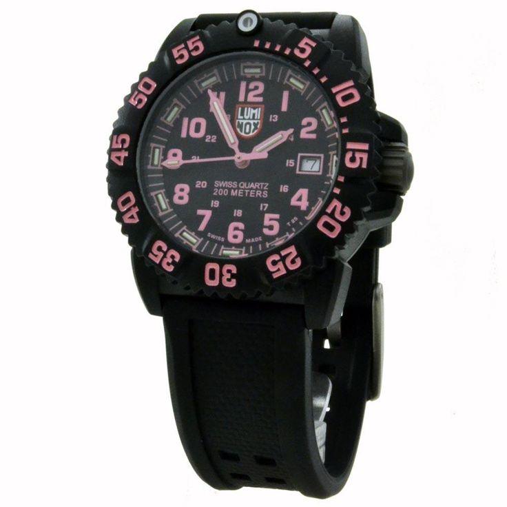 Luminox Women's Navy SEAL Colormark Dive Watch 7065