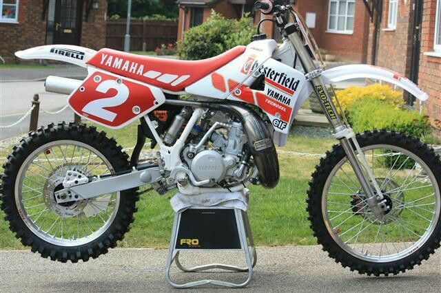 Yamaha Yz 250 Vintage Motocross Motocross Bikes Yamaha Dirt Bikes
