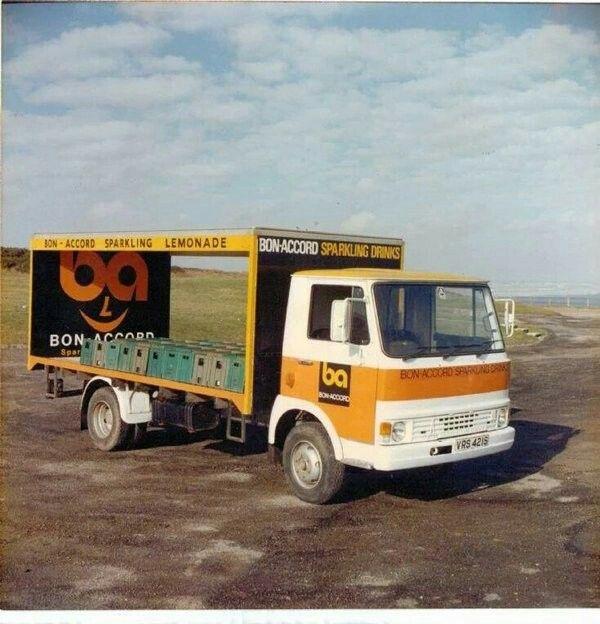 Bon Accord Ale Lorry.